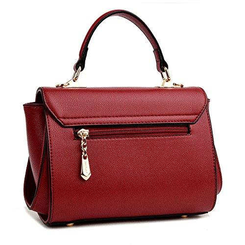 Mefly Diagonale Single Schultertasche Handtasche 2017 Neue einfache Koreanischen eleganten Stil Diagonal Paket gules