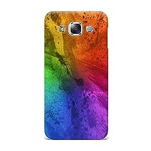 Qrioh Printed Designer Back Case Cover for Samsung E7 -33M-MP144