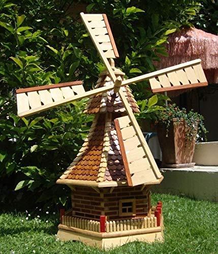 XL Windmühle, hellbraun braun - 2
