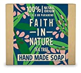 Faith in Nature, Sapone Naturale con Tea Tree Oil, 100 gr