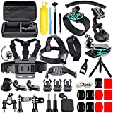 Soft Digital 50 in 1 Accessori Kit per Gopro Hero 6 5 4 3+ 3 2 1, Hero 2018, Hero 5 Session, Sony Action Camera, Xiaomi Yi, SJCAM SJ4000-SJ9000 Lightdow