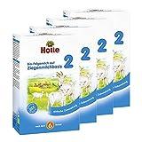 Holle Bio-Folgemilch 2 auf Ziegenmilchbasis, 4er Pack (4 x 400g)
