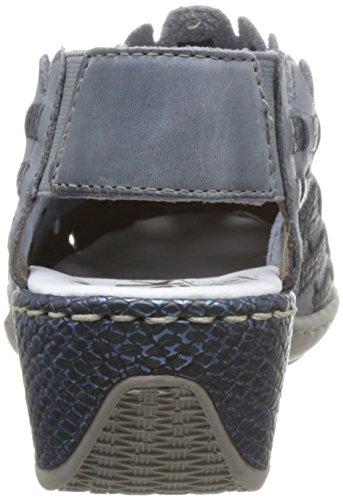 Rieker Bleu ARRIER Sandale Bride 47156 Bleu ZqZwpg