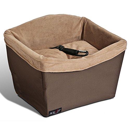 PetSafe Solvit Haustier Autositz, Sicher, Komfortable, für Hunde und Katzen