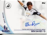 Topps Premier Gold Football 13/14 Autograph SP-BD Ben Davies