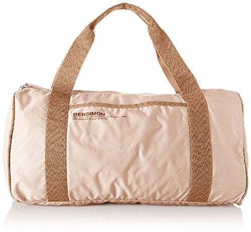 Bensimon Damen Color Bag Bowling Tasche, Pink (Rose Pale), 21.5x22x45 centimeters
