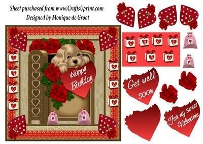 Puppy Love Sweet Love by Monique de Groot