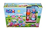 #9: Kiditos Peppa Pig Train Construction Set - 45 Pcs Set