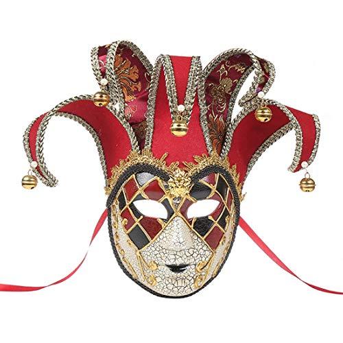 Römische Kostüm Griechisch Paare - Zhhlaixing Venezianische Masquerade Ball Maske Lustige Paarmaske Frauen Weinlese Griechische Römische Karneval Party Maske Party Kostümzubehör Geburtstagsmodenschauen Halloween Weihnachten Karneval