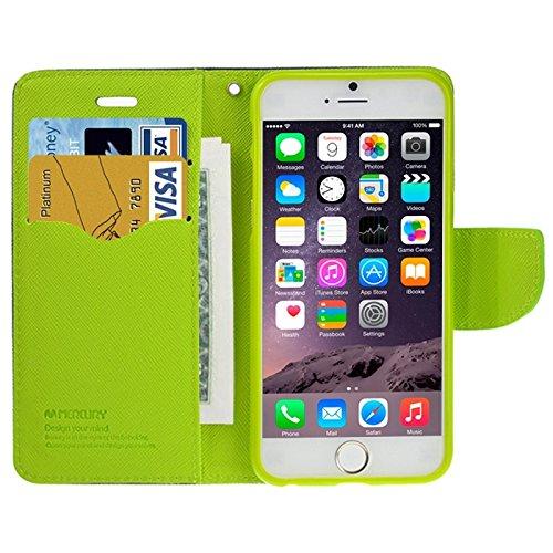 Phone case & Hülle Für IPhone 6 Plus / 6S Plus, Querbeschaffenheit Horizontaler Schlag-Leder-Kasten mit Einbauschlitzen u. Halter ( SKU : S-IP6P-0030R ) S-IP6P-0030D