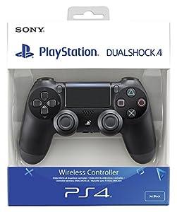 psp4: Sony - Dualshock 4 V2 Mando Inalámbrico, Color Negro V2 (PS4)