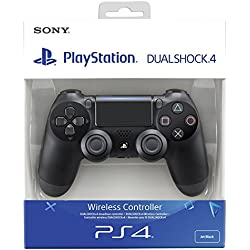 Sony - Dualshock 4 V2 Mando Inalámbrico, Color Negro V2 (PS4 ...