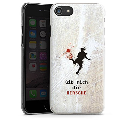 Apple iPhone X Silikon Hülle Case Schutzhülle Fußball Spruch Sport Hard Case transparent