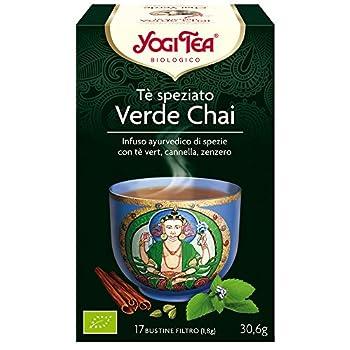 Yogi Tea T Verde Chai 17...