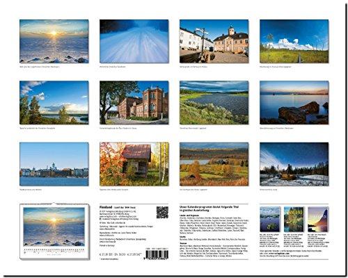 FINNLAND - Land der 1000 Seen: Original Stürtz-Kalender 2018 - Großformat-Kalender 60 x 48 cm: Alle Infos bei Amazon