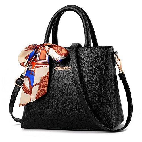 LiZhen speciali giornalieri offre eleganti girl borsa pacchetto Ms. marea di pacchetto rosso spalla borsa Messenger sposa pacchetto pacchetto matrimonio, grigio Nero