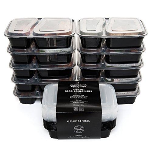 fiambreras-apilables-de-calidad-con-2-compartimentos-de-california-home-goods-paquete-de-10-con-tapa
