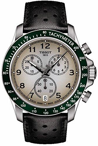 Montre Tissot V8 Quartz chronographe T106.417.16.032.00 T1064171603200 Mascul