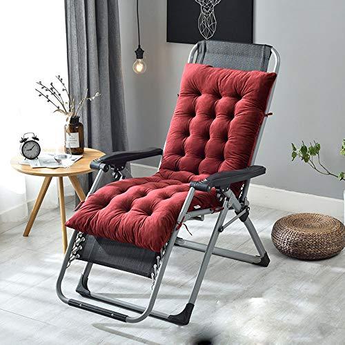 MARXHOT Indoor/Outdoor Chaise Lounge Kissen Samt Stoff verdicken Sofa Stuhl Patio Kissen Tatami Matte (Multi-Größe),002,M - 002 Matte