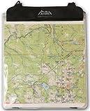 Andes - Kartentasche/Kartenhülle aus PVC zum Wandern/Camping - Wasserdicht - Transparent
