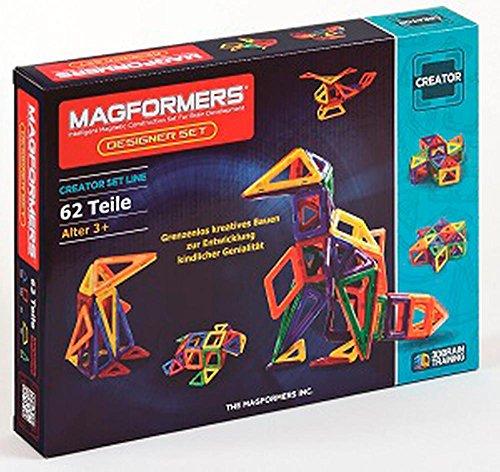Preisvergleich Produktbild Magformers Creator Designer Set 62-teilig Magnetspiel