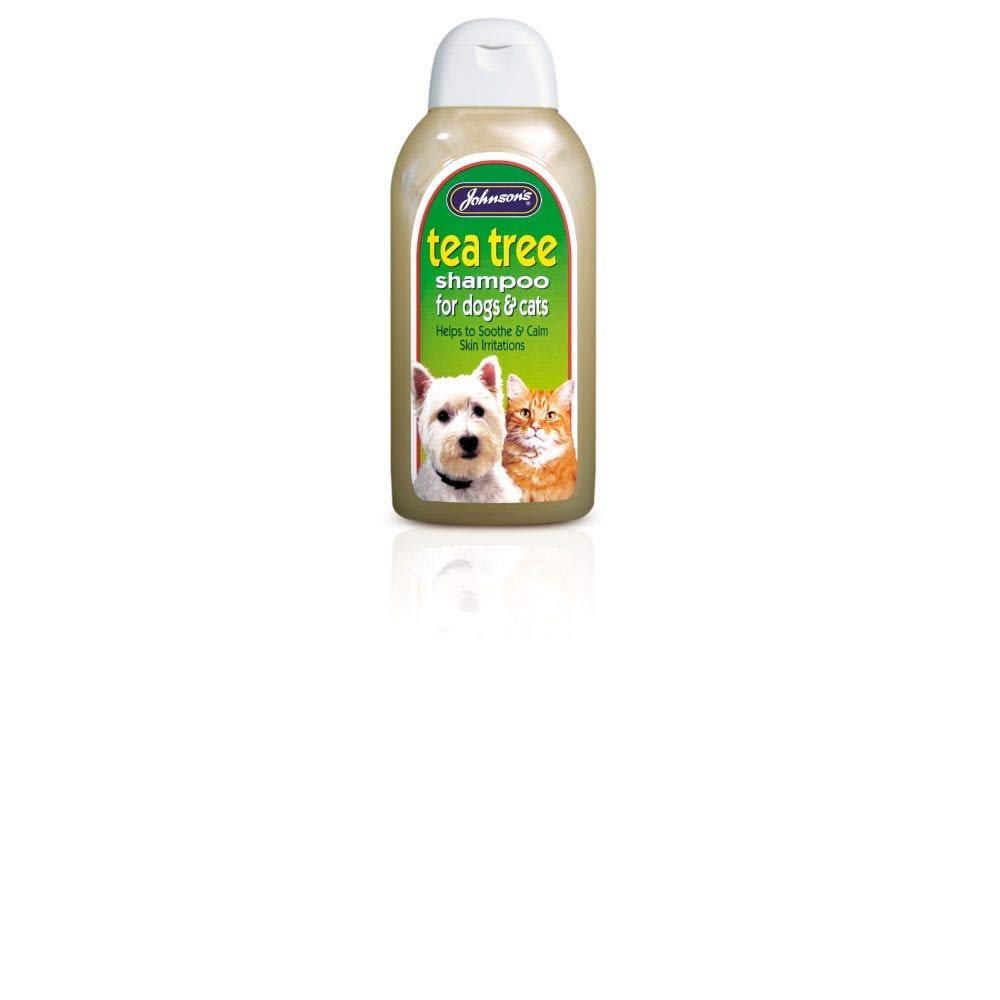 Johnsons Tea Tree Soothing Shampoo for Dogs 400ml