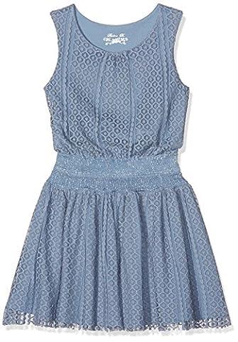 Pauline B. Mädchen Kleid Prince Blau (Denim), 8 Jahre