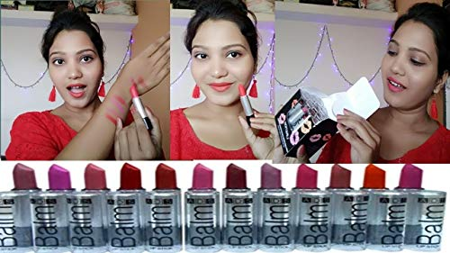 ADS Combo Balm Matte Lipstick - Set Of 12