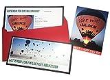 Geschenk Gutschein 2016 in Augsburg - Ballonfahrt für 2: Jetzt schenken & im Sommer Erlebnisgeschenk einlösen