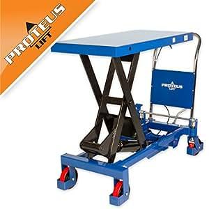 Hubtisch pROTEUS p1000 tischwagen desserte chariot scherenhubtisch chariot élévateur hydraulique
