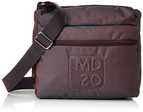 Mandarina Duck MD20 TRACOLLA CORDOVAN, Borsa a tracolla donna Rosso Rot (CORDOVAN 18I) 36x15x30 cm (B x H x T)