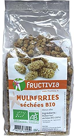Mûre blanches Bio (Mulberries)
