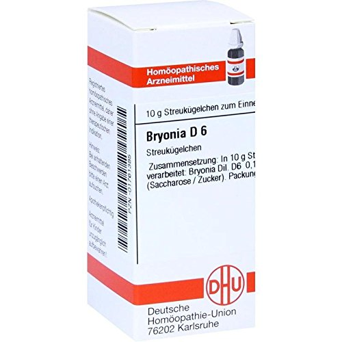 DHU Bryonia D6 Globuli, 10 g Globuli