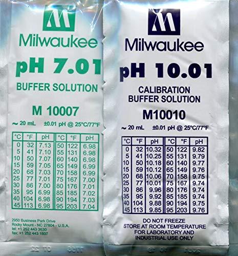 generisch Kalibrierkit pH 5 x 7,01 und 5 x 10,01 20 ml Beutel -