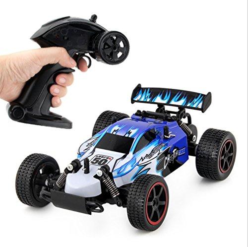 CFZHANG Elektro RC Auto Offroad Fernbedienung 1:20 Elektrische Ladung 30Km/H 2,4G Fernbedienung Funksteuerung Für Kinder Und Erwachsene, Blue - Amp-1-geschwindigkeiten-motor