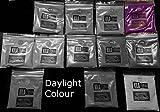 Ultra brilla en la oscuridad fluorescente UV Polvo más grandes 50G–utilizado para brillo estante o resina joyas, Purple Vilolet, 50 g