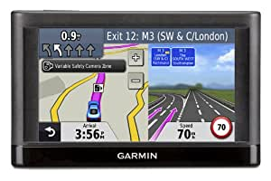 Garmin nuvi 42LM 4.3-Inch Satellite Navigation System with UK, Ireland, Western Europe Maps and Free Lifetime Updates