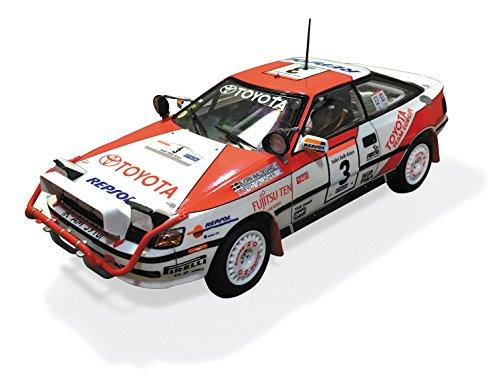 Toyota Celica GT-Four ST165 1990 Safari Rally 1:24 Model Kit BEEMAX Aoshima 097885 (Toyota Celica 1990)