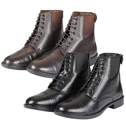 Horka Zugstiefelette Deluxe, schwarz, UK 6.5 / EU 40 / US 8.5 / AU (Deluxe Stiefel Schwarz Adult)
