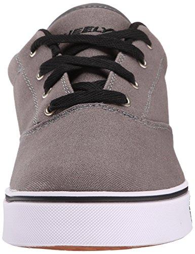 Bassi Garçon Grigio Sneakers Lancio Heelys q7FStE