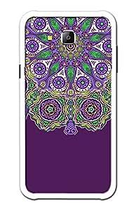 Premium Quality Designer Printed 2D Transparent Lightweight Slim Matte Finish Hard Case Back Cover for Samsung Galaxy J7 by KanvasCases