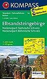 Elbsandsteingebirge - Nationalpark Sächsische Schweiz - Nationalpark Böhmische Schweiz: Wanderkarte mit Aktiv Guide, Radrouten und Reitwegen. GPS-genau. 1:25000 (KOMPASS-Wanderkarten, Band 761) -