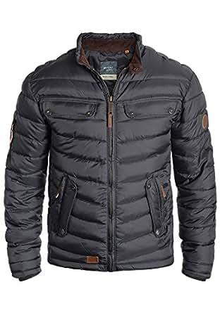 blend camaro herren steppjacke bergangsjacke jacke mit stehkragen bekleidung