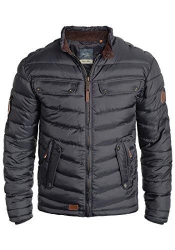 Blend Camaro Herren Steppjacke Übergangsjacke Jacke mit Stehkragen, Größe:M, Farbe:India Ink (70151)
