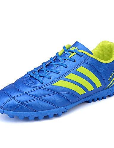 ZQ Damen-Flache Schuhe-Sportlich / L?ssig-T¨¹ll-Flacher Absatz-Flache Schuhe / Rundeschuh-Schwarz / Blau / Gr¨¹n / Wei? blue-us8 / eu39 / uk6 / cn39