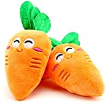 Healthy Clubs Dog Vegetable carrot Toy Pet Puppy Plush Sound Chew Squeaker Squeaky Plush ToysL