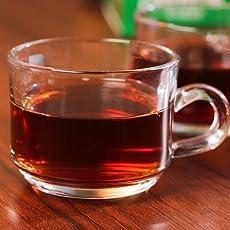 My Tea Cup Tea & Coffee Cup Set in (6 pcs set) 140ml Approx , Tea Cup Glass