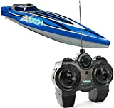 XQ Toys X-Tech Micro Radio Controlled Racing Boat,Random (Red and Blue)