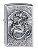 Dragon 3D - Collection 2012 - Chrome brushed - Zippo-Art.-Nr.: 2.002.545
