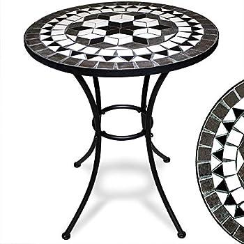 Deuba Bistrotisch Oriental Mosaik Tisch Ø 60 cm Höhe 70 cm